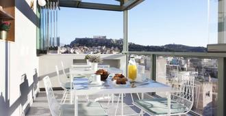 Evripides Hotel - אתונה - מרפסת