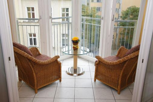 HSH Hotel Apartments Mitte - Berlin - Balcony