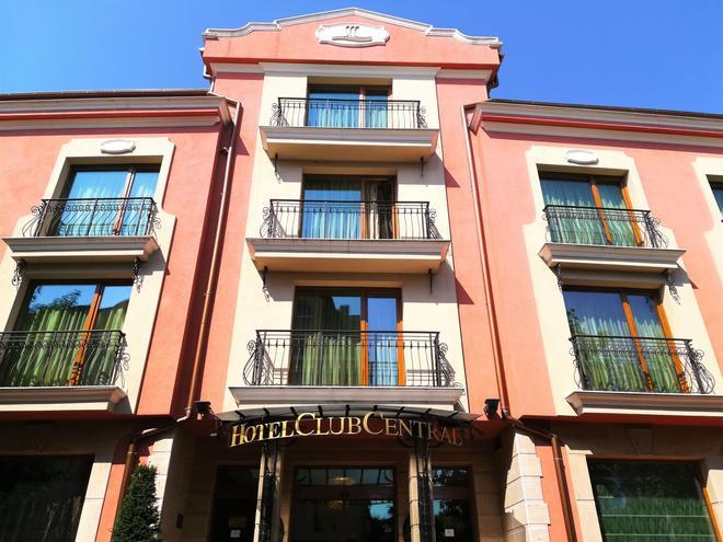 Club Central Hotel - Hissarya - Edificio