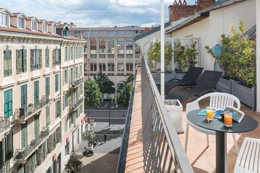 Hotel Florence Nice - Nizza - Parveke