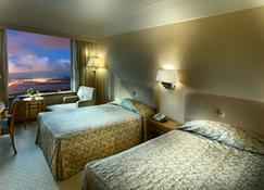 Golden Crown China Hotel - Macau - Schlafzimmer