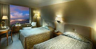 Golden Crown China Hotel - Macau - חדר שינה