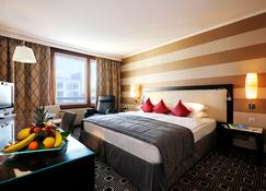 Hilton Geneva Hotel and Conference Centre - Гран-Саконекс - Спальня