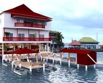 Divers Paradise Boutique Hotel - Bocas del Toro - Building