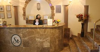 Hotel Sir Gara de Nord - Bucharest - Front desk