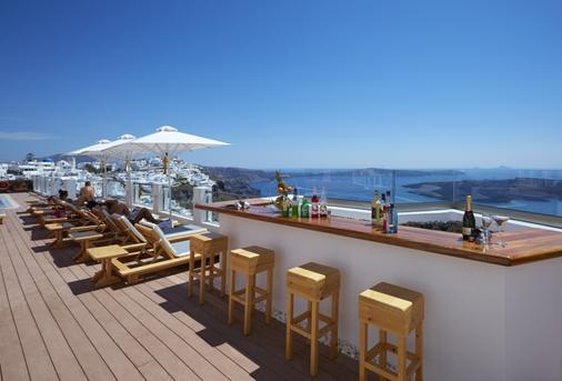 艾拉水療酒店 - 聖托里尼 - 菲羅斯特法尼 - 陽台
