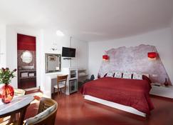 Ira Hotel & Spa - Firostefani - Κρεβατοκάμαρα