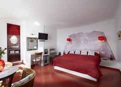 Ira Hotel & Spa - Firostefani - Bedroom