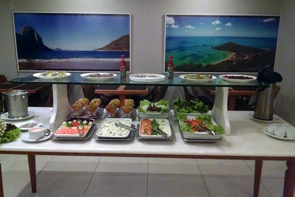 Diamond Hotel - Rio de Janeiro - Food