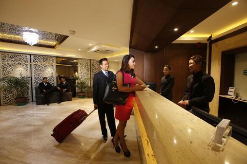 Platinum Hotel & Spa - Kathmandu - Vastaanotto