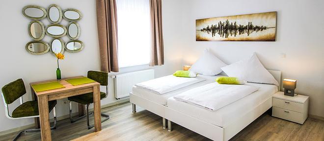 Aparthotel Gartenstadt - Bamberg - Bedroom