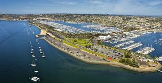 Bay Club Hotel & Marina - San Diego - Utomhus