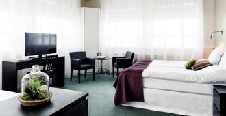 22 Hill Hotel - רייקיאוויק - חדר שינה