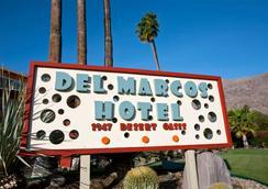 Del Marcos Hotel - Palm Springs - Θέα στην ύπαιθρο
