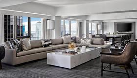 紐約馬奎斯萬豪酒店 - 紐約 - 客廳