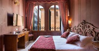 Hotel Tiziano - Venedig - Sovrum