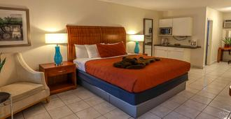 The Big Coconut Guesthouse Gay Men's Resort - פורט לודרדייל - חדר שינה