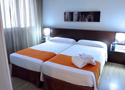 Hotel Rekord - Barcelona - Schlafzimmer