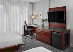 Matrix Hotel - Edmonton - Schlafzimmer