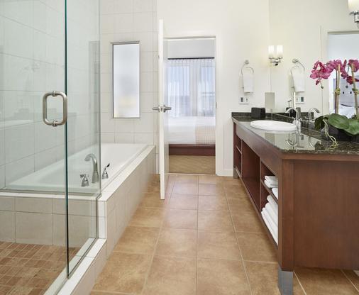 Metterra Hotel on Whyte - Edmonton - Phòng tắm