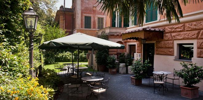 Hotel Villa San Pio - Rome - Hàng hiên
