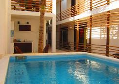 拉提諾酒店 - 圖盧姆 - 游泳池