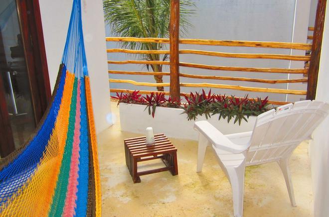 Hotel Latino - Tulum - Balkon