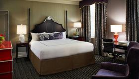 弗朗西斯德雷克爵士金普頓酒店 - 三藩市 - 舊金山 - 臥室