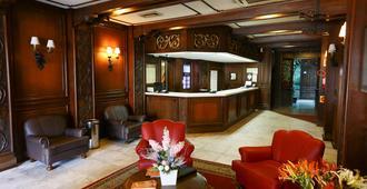 Hotel Glória - Blumenau - Rezeption