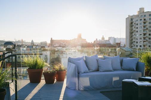 Yurbban Trafalgar Hotel - Barcelona - Parveke