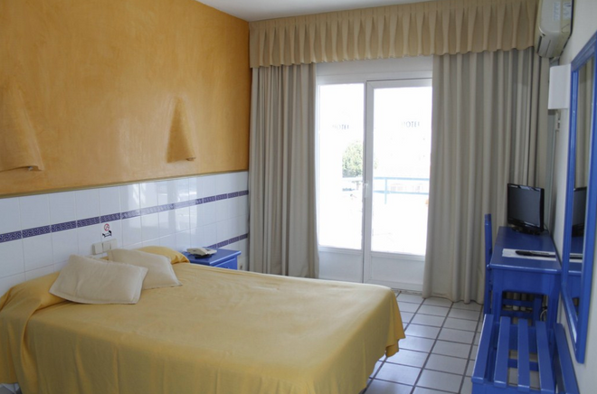 Hotel Virgen del Mar - Mojacar - Bedroom