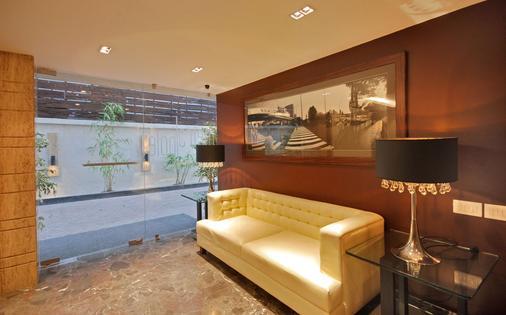 Hotel Metropole - Καλκούτα - Ρεσεψιόν
