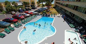 海濱維京汽車旅館 - 麥爾托海灘 - 美特爾海灘 - 游泳池