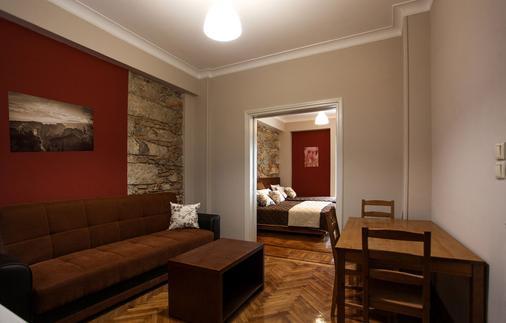 安博夏套房公寓酒店 - 雅典 - 雅典 - 客廳