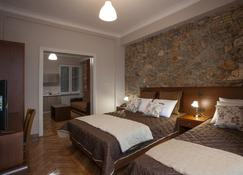 Ambrosia Suites & Aparts - Athen - Schlafzimmer
