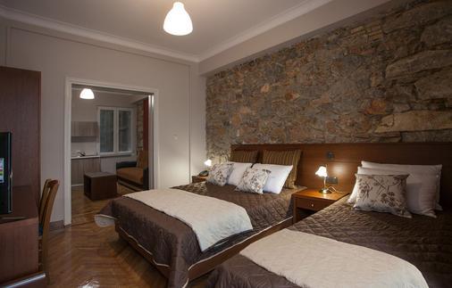 安博夏套房公寓酒店 - 雅典 - 雅典 - 臥室