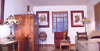 Casas De Suenos Old Town Historic Inn - אלבקורקי - סלון