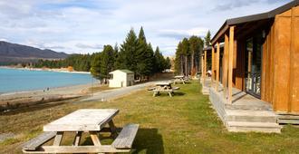 Lake Tekapo Motels & Holiday Park - Lake Tekapo - Patio