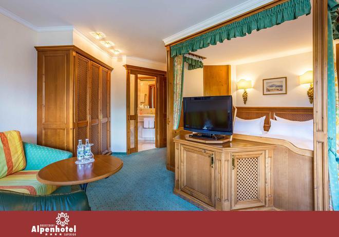 Alpenhotel Oberstdorf - Oberstdorf - Bedroom