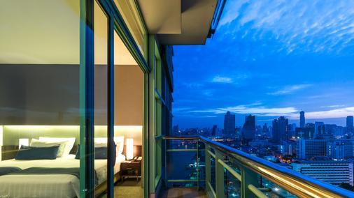 察殿曼谷河畔豪華酒店 - 曼谷 - 陽台