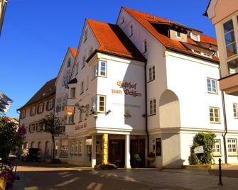 Hotel-restaurant Gasthof Zum Ochsen - Ehingen - Building