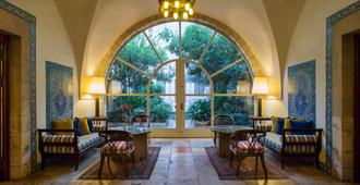 The American Colony Hotel - Small Luxury Hotels of the World - Jerusalém - Entrada do hotel