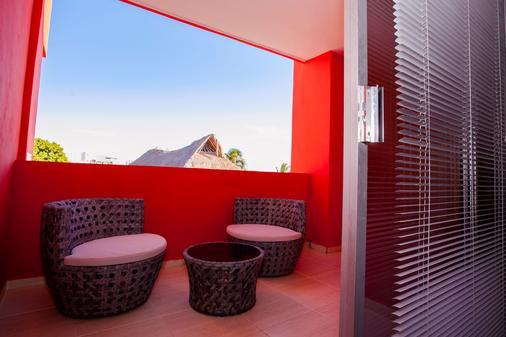 Hotel Isla Zamna - Isla Mujeres - Balcony