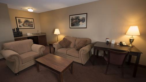 Moberly Inn & Suites - Moberly - Wohnzimmer