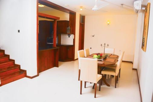 Unique Towers Luxury Boutique Suites - Colombo - Ruokailuhuone