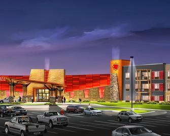 Shoshone Rose Casino & Hotel - Лендер - Building