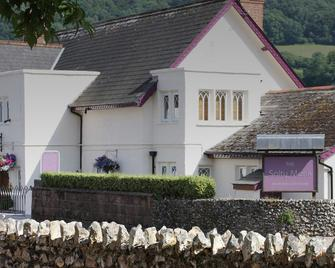 The Salty Monk - Sidmouth - Gebouw