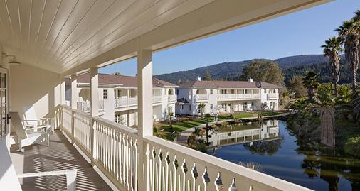 Indian Springs Resort & Spa - Calistoga - Balcón
