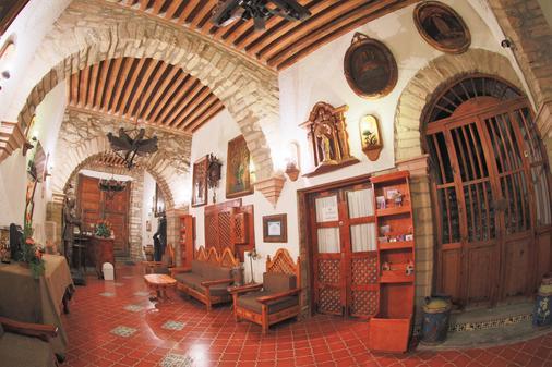 Hotel Mesón del Rosario - Guanajuato - Lobby