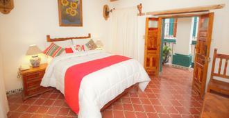 梅森德羅薩里奧酒店 - 瓜納華托 - 臥室